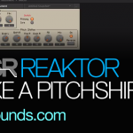 pitchshift with reaktor