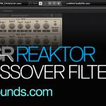 crossover filters Reaktor