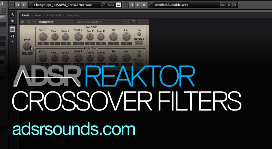Reaktor User Library – Crossover Filter