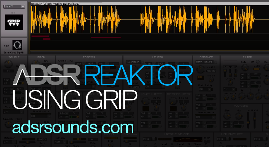 Reaktor User Library – GRIP by Uwe Hoenig