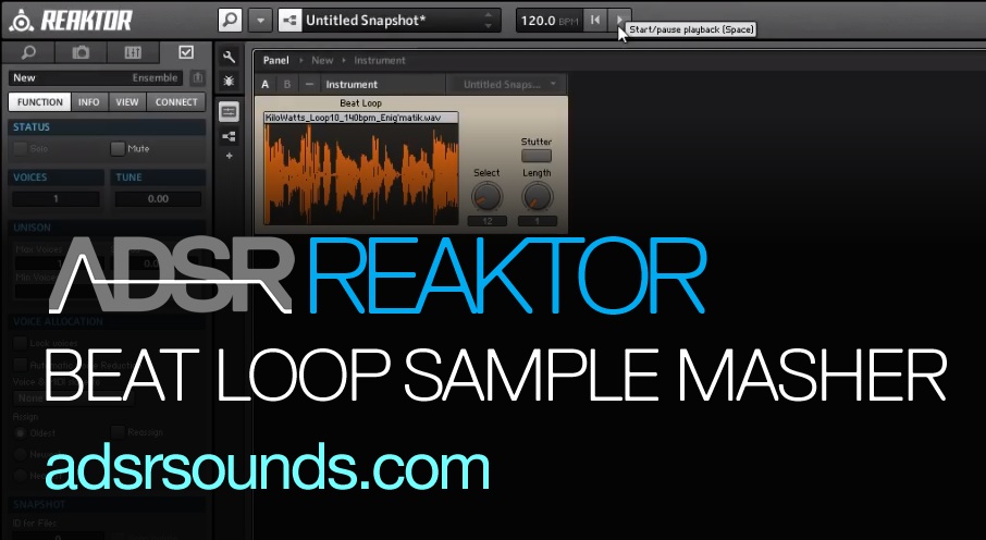Create a Sample Masher Using the Beat Loop Module
