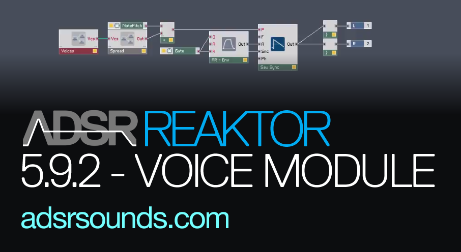 Reaktor 5.92 New Features – Polyphonic Unison