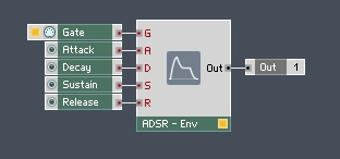 How To Build A Synth In Reaktor - A beginners guide - ADSR