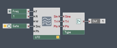 How to Build a Synth in Reaktor (Part II) - Adding An LFO and Pulse Width Modulation  - ADSR
