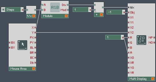 Using Multi Displays in Reaktor Part I - ADSR