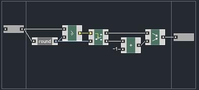 Bandwidth Limited Sawtooth Oscillator in Reaktor - ADSR